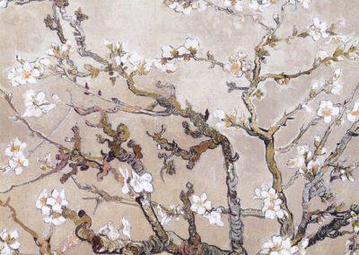 Branches d'amandier en fleurs - Vincent van Gogh (1890)