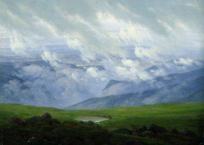 Drifting clouds - Caspar Friedrich 1820