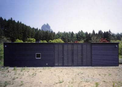 Weekend house - Ryue Nishizawa (1998) - 1