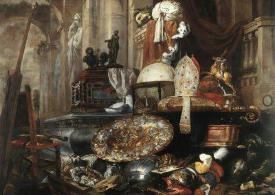 Allégorie des vanités du monde - Pieter Boel (1633)