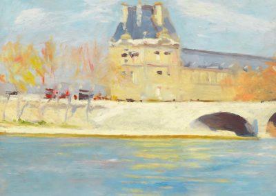 Apres-midi de juin - Edward Hopper (1907)