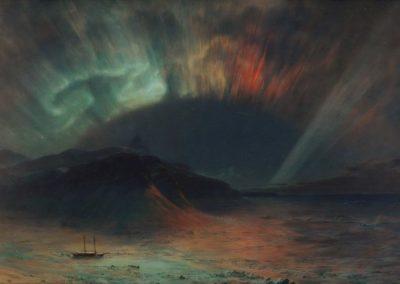 Aurore boreale - Frederic Edwin Church (1865)
