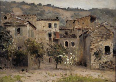 Autour de Bordighera - Isaac Levitan (1890)