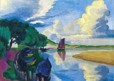 Autumn clouds - Max Pechstein (1927)