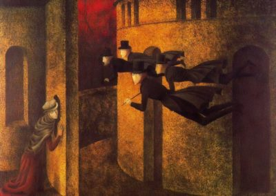 Bankers in action - Remedios Varo (1945)
