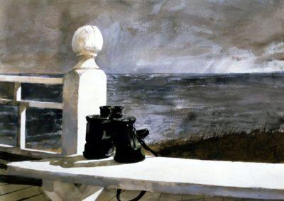 Binoculars - Andrew Weyth 1981