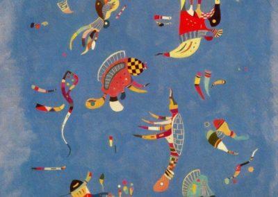 Bleu celeste - Wassily Kandinsky (1940)