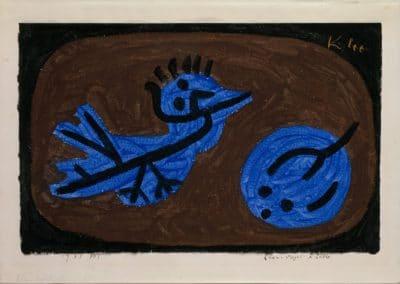 Blue bird pumkin - Paul Klee (1939)