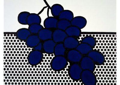 Blue grapes - Roy Lichtenstein (1972)