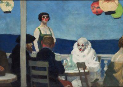 Blue night - Edward Hopper (1914)