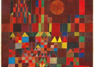 Burg und sun - Paul Klee (1928)