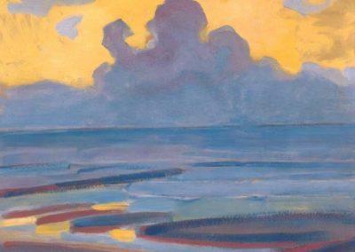 By the sea - Piet Mondrian (1909)