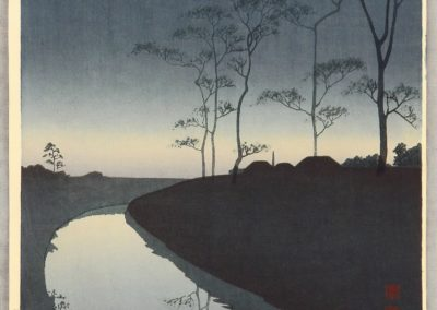 Canal under the moonlight - Shoda Koho (1930)