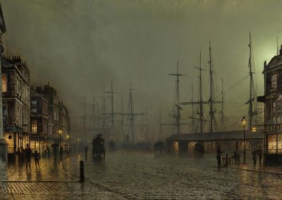 Canny Glasgow - John Atkinson Grimshaw (1887)