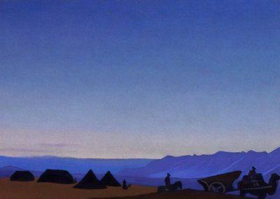 Caravane - Nicolas Roerich (1931)