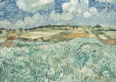 Champ de blés près d'Auvers - Vincent Van Gogh (1890)