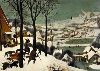 Chasseurs dans la neige - Pieter Brueghel l'Ancien (1565)