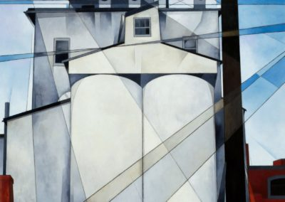 Chimneys and towers - Charles Demuth (1933)