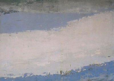 Ciel a Honfleur - Nicolas de Staël (1952)