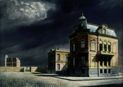 City view - Carel Willink (1934)