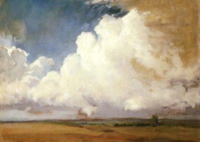 Clouds - Feodor Vasilyev (1871)