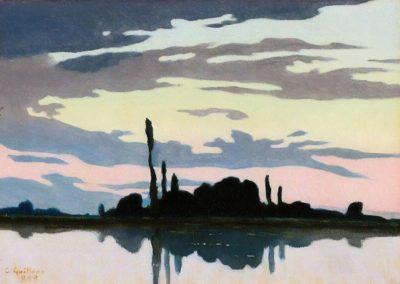 Crépuscule - Charles Guilloux (1892)