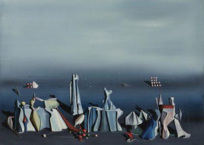 Deux fois du noir - Yves Tanguy (1941)