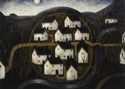 Dusk hill village - John Caple (1983)