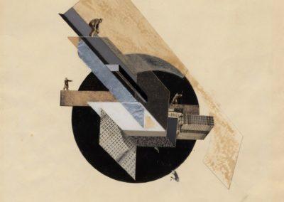 Dynamic city - Gustav Klutsis (1919)