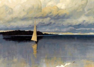 Eaux calmes - Vladimir Nikolaevich Fedorovich (1910)