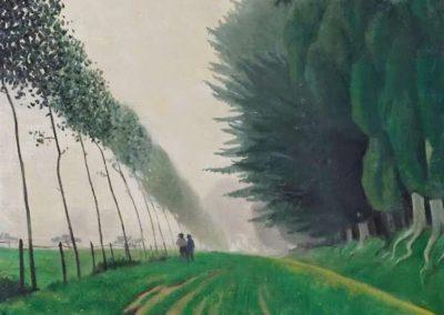 Effet de brume, Honfleur - Félix Vallotton (1917)