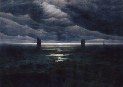 Effet de soleil sur les bords de la Loire à Candes - Francis Picabia (1908)