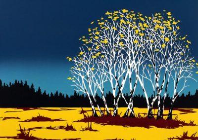 Elk River Trees - Emily Gray Koehler (2004)