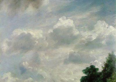 Etude de nuages, Hampstead - John Constable (1821)