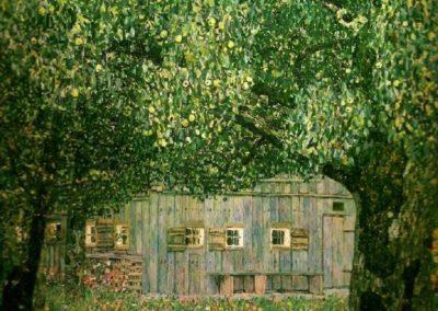 Ferme en Autriche - Gustav Klimt (1911)