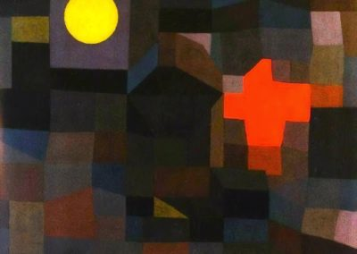 Fire at full moon - Paul Klee (1933)