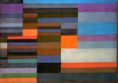 Fire evening - Paul Klee (1929)