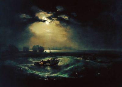 Fishermen at sea - William Turner (1796)