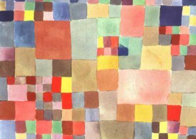 Flora on sand - Paul Klee (1927)