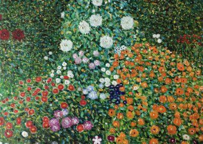 Flower garden - Gustav Klimt 1897