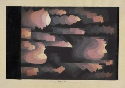 Fugue in red - Paul Klee (1921)