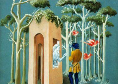 Garden of love - Remedios Varo (1951)