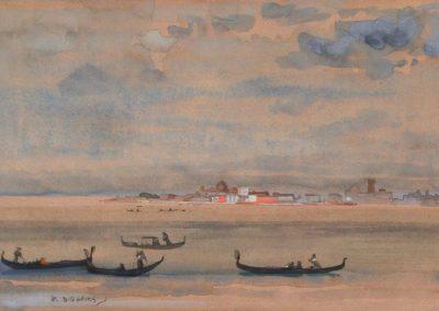 Gondolas - Arthur Bowen Davies (1871)