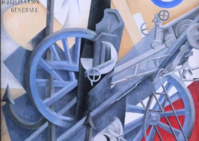 Guerra - Gino Severini (1915)