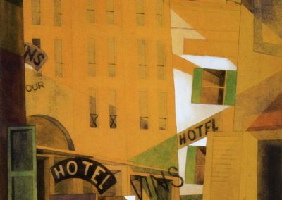 Hotel - Charles Demuth (1921)