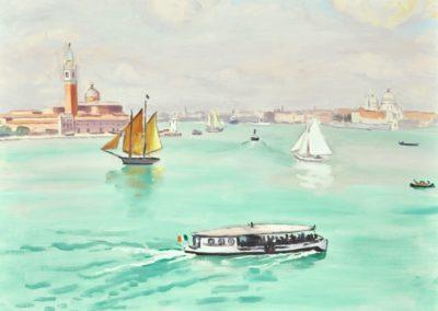 Il vaporetto - Albert Marquet (1926)