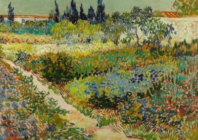 Jardin a Arles - Vincent Van Gogh (1888)
