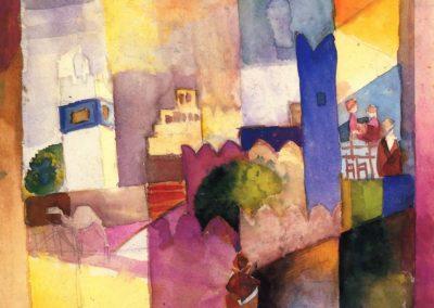 Kairouan (III) - August Macke (1914)