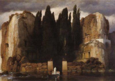 L'ile des morts - Arnold Bocklin (1886)