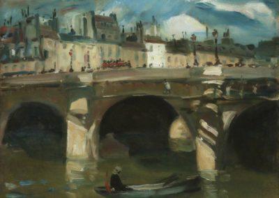 La Seine - William Glackens (1895)